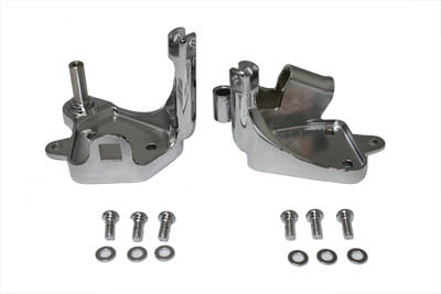 V-Twin 21-0250 - Forward Control Bracket Chrome