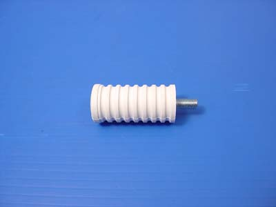 V-Twin 21-0904 - Shifter Footpeg White Rubber
