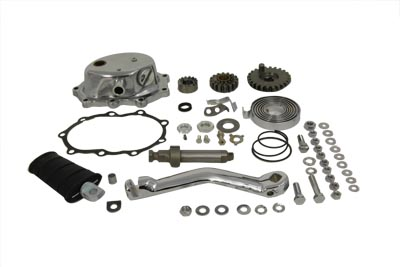V-Twin 22-0302 - Kick Starter Conversion Kit Polished