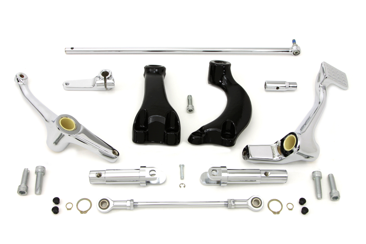 V-Twin 22-0456 - Chrome Forward Control Kit