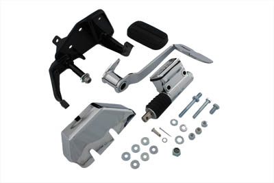 V-Twin 22-0507 - Brake Control Kit with Chrome Master Cylinder