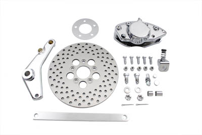 "V-Twin 22-0540 - Rear Brake Caliper and 10"" Disc Kit"