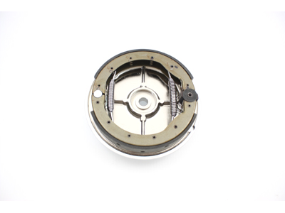V-Twin 22-0730 - Chrome Rear Brake Backing Plate Kit