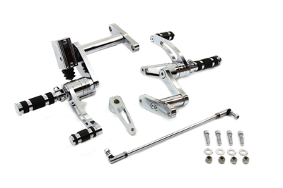 V-Twin 22-0769 - Billet Forward Control Kit with Master Cylinder