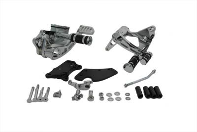 V-Twin 22-0790 - Billet Forward Control Kit