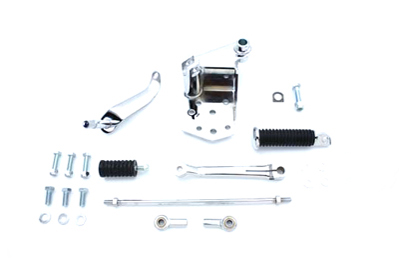 V-Twin 22-1004 - Chrome Replica Shifter Control Kit