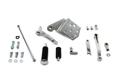 V-Twin 22-1006 - Chrome Replica Shifter Control Kit