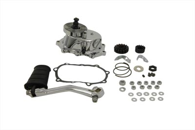 V-Twin 22-1042 - Chrome Kick Starter Kit