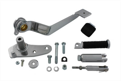 V-Twin 22-1082 - Chrome Replica Brake Control Kit