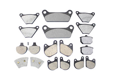 V-Twin 23-0000 - Assorted Brake Pad Kit