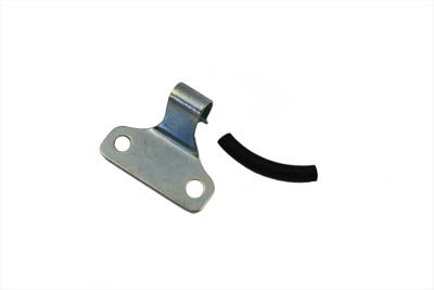V-Twin 23-0121 - Brake Line Support Bracket Zinc
