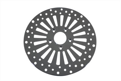 "V-Twin 23-0149 - 11-1/2"" Wyatt Gatling Front Disc 20 Spoke Style"