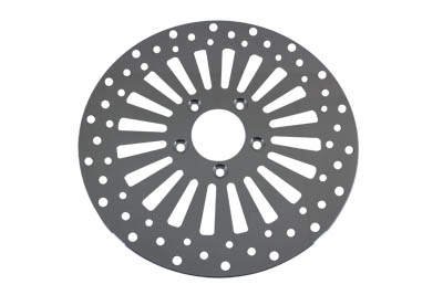 "V-Twin 23-0151 - 11-1/2"" Wyatt Gatling Front Disc 20 Spoke Style"