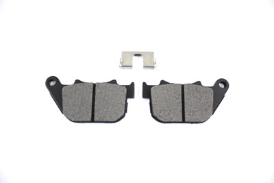 V-Twin 23-0184 - Kevlar Rear Brake Pad Set