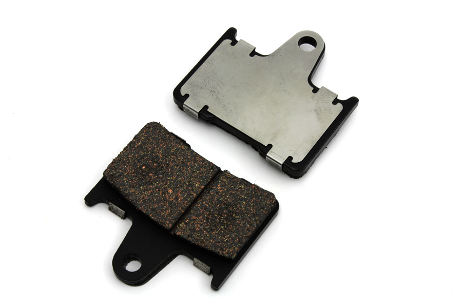 V-Twin 23-0186 - Dura Ceramic Rear Brake Pad Set
