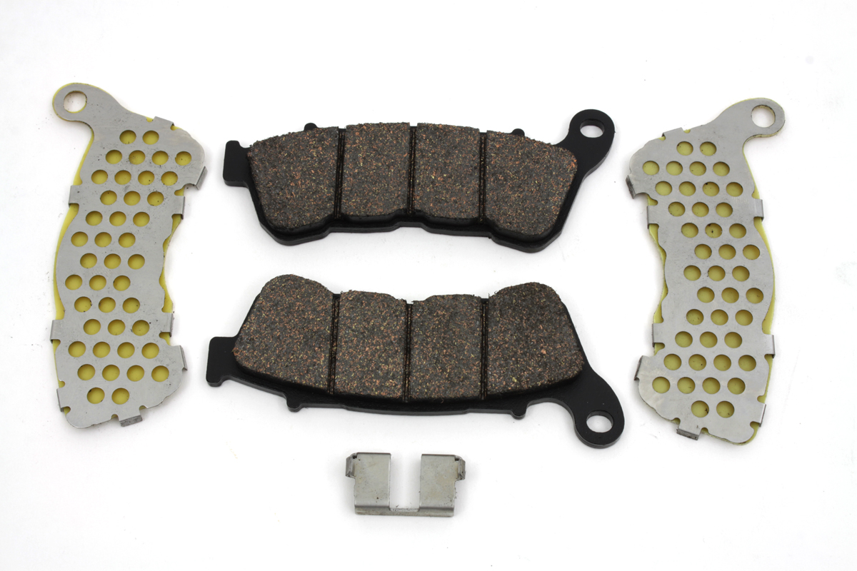 V-Twin 23-0189 - Dura Ceramic Front Brake Pad Set