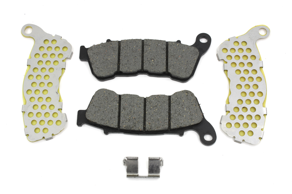 V-Twin 23-0191 - Dura Kevlar Front Brake Pad Set