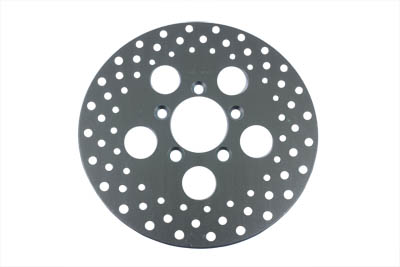 "V-Twin 23-0311 - 10"" Drilled Front Brake Disc"