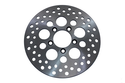 "V-Twin 23-0316 - 10"" Drilled Front Brake Disc"