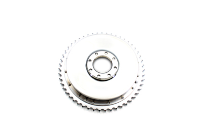 V-Twin 23-0437 - Rear Brake Drum Chrome