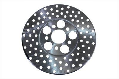"V-Twin 23-0439 - 10"" Drilled Front or Rear Brake Disc"