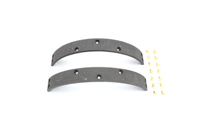 V-Twin 23-0450 - Oversize Brake Shoe Lining with Rivets