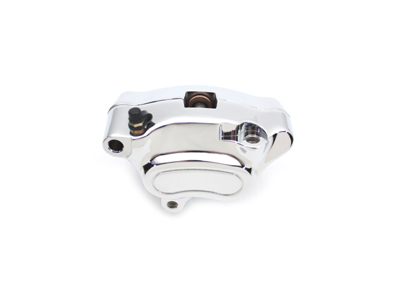 V-Twin 23-0499 - Chrome Front 4 Piston Left Side Caliper