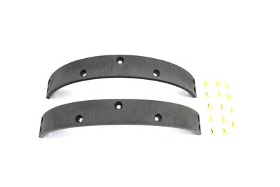 V-Twin 23-0505 - Rear Brake Shoe Linings with Rivets