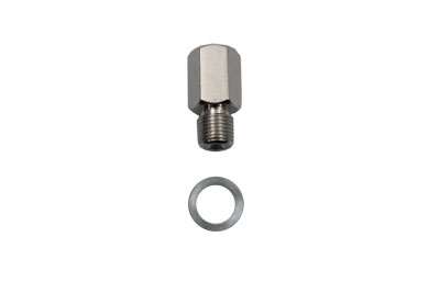 V-Twin 23-0517 - Chrome Brake Hose Fitting