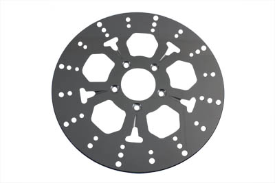 "V-Twin 23-0639 - 11-1/2"" Front Brake Disc 5-Spoke"