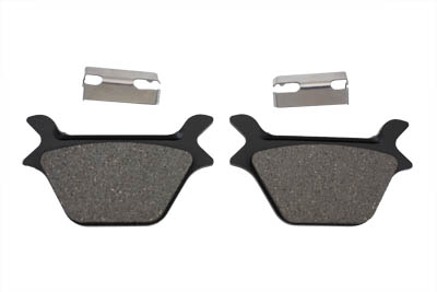 V-Twin 23-0642 - Dura Semi-Metallic Rear Brake Pad Set