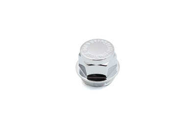 V-Twin 23-0734 - Chrome Master Cylinder Filler Top Plug Cap
