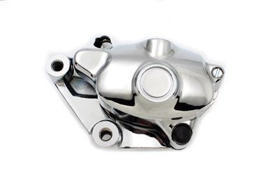 V-Twin 23-0852 - Chrome 4 Piston Front Brake Caliper Left Side