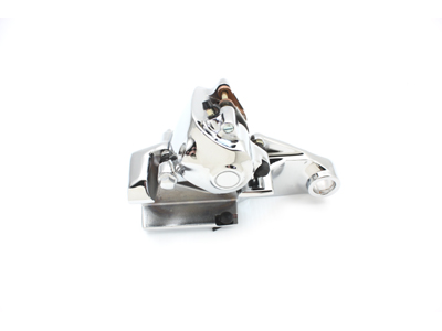 V-Twin 23-0855 - Chrome Rear Caliper with Bracket