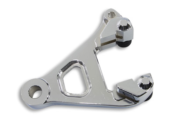 V-Twin 23-0898 - Chrome Rear Brake Caliper Bracket