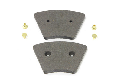 V-Twin 23-0915 - Dura Ceramic Front Brake Pad Set