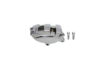 V-Twin 23-0987 - Chrome Rear 4 Piston Caliper