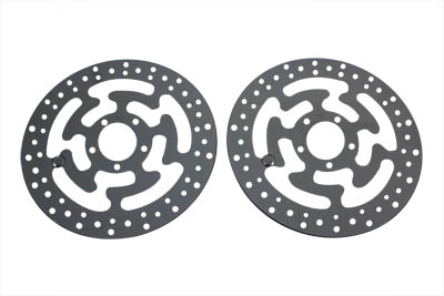 "V-Twin 23-1040 - Replica 11-13/16"" Front Brake Disc Set"