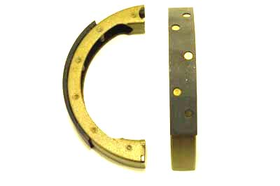 V-Twin 23-1993 - Front Brake Shoe and Lining Set