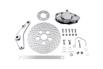 "V-Twin 23-2211 - Rear Banana Caliper and 10"" Disc Kit"
