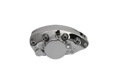 V-Twin 23-2240 - Chrome Rear 1 Piston Banana Caliper