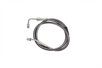"V-Twin 23-8900 - Stainless Steel 43-1/4"" Front Brake Hose"
