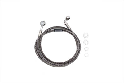 V-Twin 23-8989 - Stainless Steel Front Brake Hose 48-1/2""
