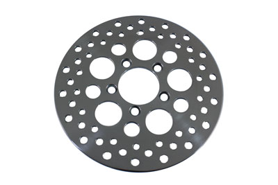 "V-Twin 23-9046 - 10"" Drilled Front Brake Disc"