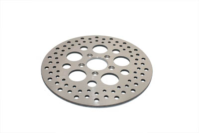 "V-Twin 23-9049 - 11-1/2"" Drilled Front Brake Disc"