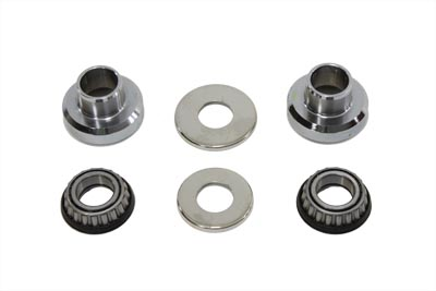 V-Twin 24-0103 - Timken Sealed Fork Neck Cup Bearing Kit Chrome