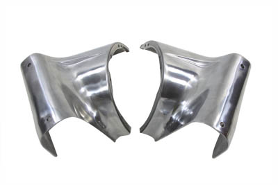 "V-Twin 24-0255 - 7"" Headlamp Polished Cowl Set"