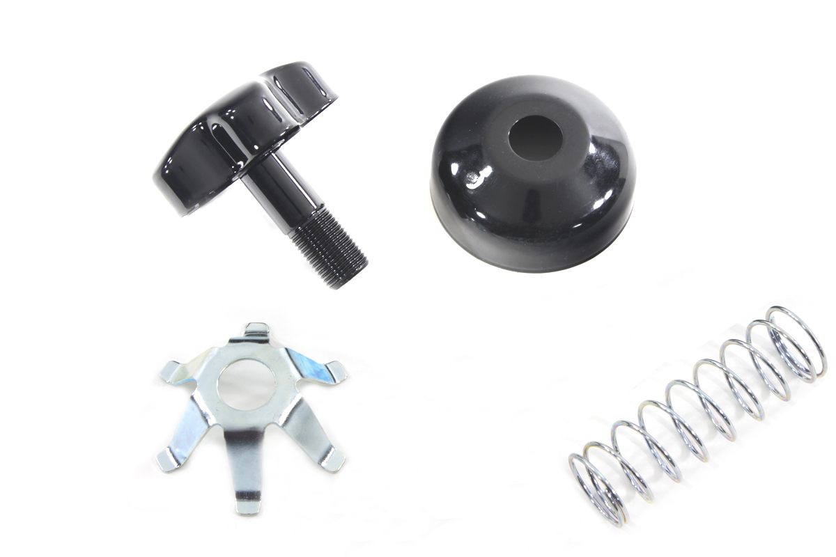 V-Twin 24-0314 - Fork Steering Damper Knob Kit