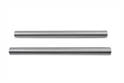 "V-Twin 24-0402 - Chrome 41mm Fork Tube Set 24"" Total Length"