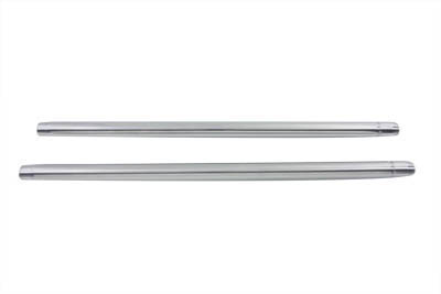 "V-Twin 24-0485 - Chrome Fork Tube Set 10"" Over Stock"